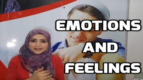 تعلم الإنجليزية ازاى تعبر عن حالتك النفسيه Emotions And Feelings ازاى تعبر عن حالتك النفسيه ازاى تقول ان How To Express Feelings Education English Emotions