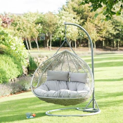 Siena Hanging Snuggle Egg Chair Hanging Egg Chair Hanging Chair Outdoor Swinging Chair