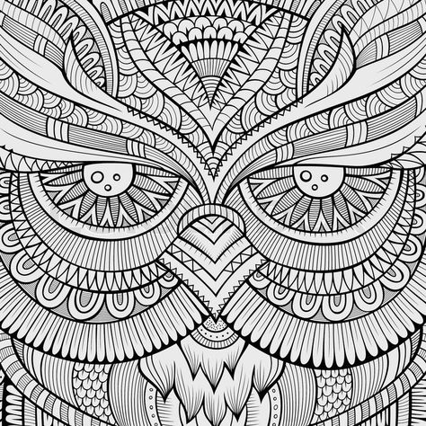 Decorative ornamental peacock background Vector illustration - fresh detailed peacock coloring pages