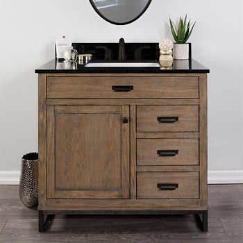 Foremost Chadwick 37 In Vanity Vanity Combos White Marble