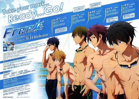 Pin By The Cardinal Arts On Animes Free Free Iwatobi Iwatobi Swim Club
