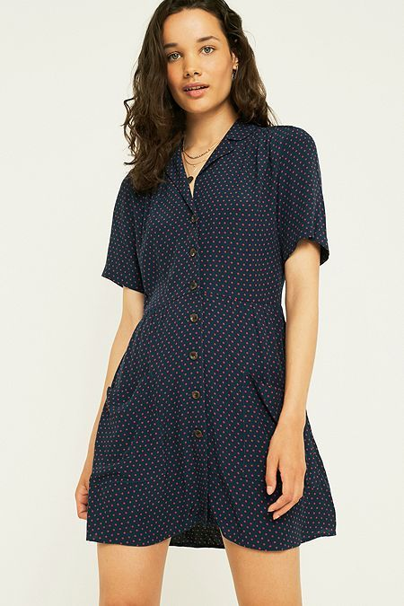 3285b834 UO Brendan Drapey Flannel Button-Down Shirt | Urban Outfitters ...