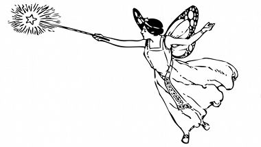 Image Result For Fairy Godmother Fairy Clipart Vintage Fairies