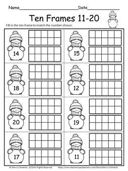Ten Frames 11 20 Freebie By Sherry Clements Teachers Pay Teachers Ten Frames Teachers Pay Teachers Freebies Teachers Pay Teachers Free Downloads