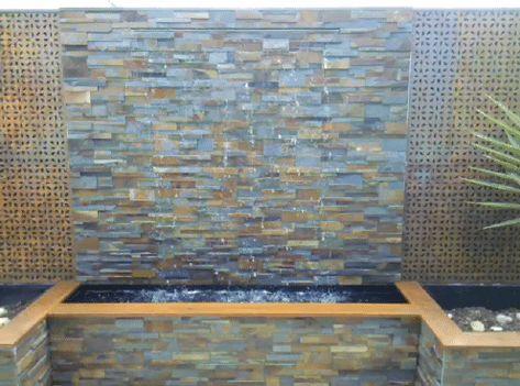Spillway Wall Wash 1 Gif Diy Water Feature Indoor Waterfall Wall Diy Water