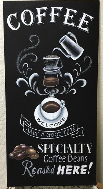 Your Coffee Guru Coffee Chalkboard Coffee Shop Design Coffee Signs