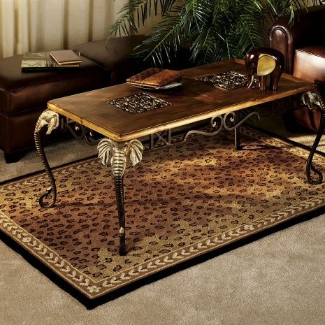 African Themed Rugs