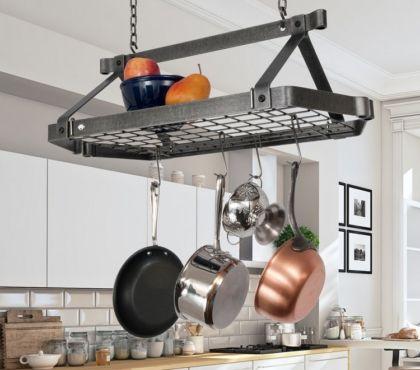Hangendes Deckenregal Fur Kuche Oder Wohnraum Richten Sie Ihre