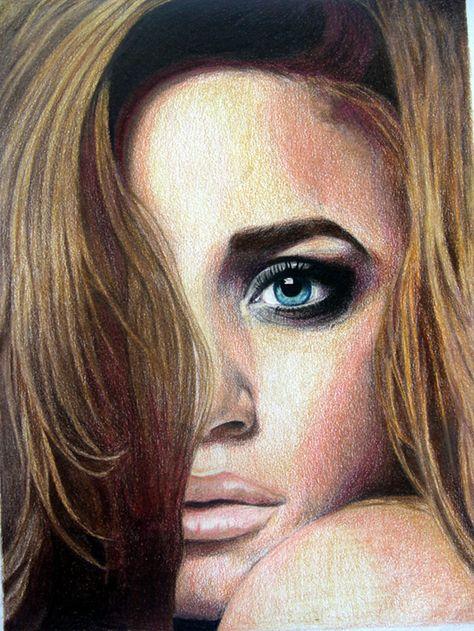 Interesting Faces To Draw | Jill Pelto Artwork: AP Art ...