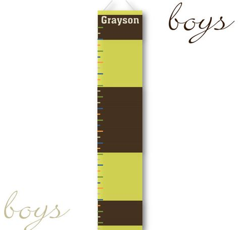 Personalized Children S Growth Chart On Canvas By Creativebyclair 20 50