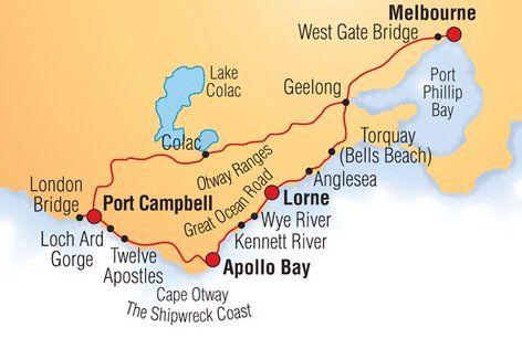 Great Ocean Road campervan roadtrip - Free list of the things to do