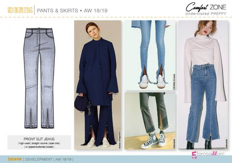 Discover the new Fall Winter DENIM Development Designs by Fashion Trends forecasting. I absolutely refuse to wear this!