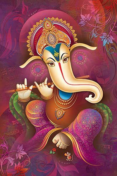 Pin By Liana Vourakis On Ganesh God Of Luck Ganesha Pictures Ganesha Art Ganesha Painting