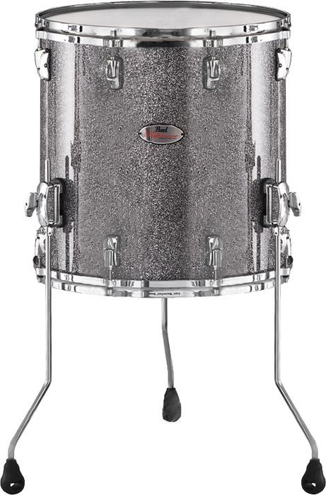 Pearl Reference Floor Tom Drum Granite Sparkle 14 X 14 With