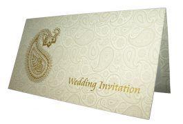 Abc 730 Asian Paisley Background Foiled Invitation Foil Invitations Gold Foil Cards Paisley Background