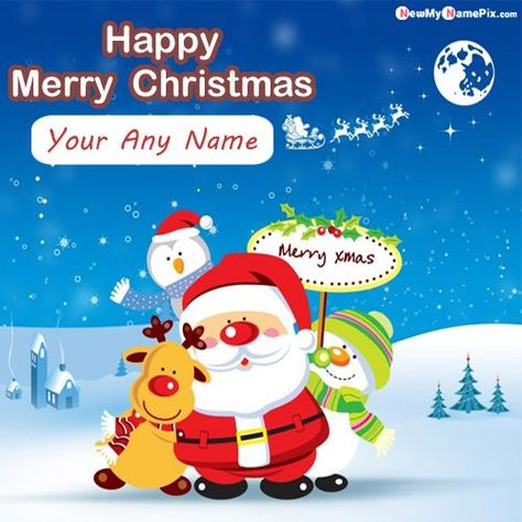 Most Popular New Happy Christmas Festival Wish Card Make