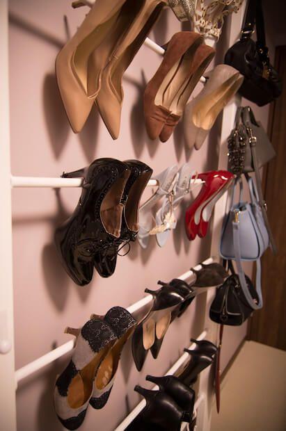 賃貸DIY】ハイヒールを魅せる収納靴棚を作る