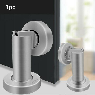 Stainless Steel Hardware Door Stop Ground Mount Magnetic Home Wall Heavy Duty Fashion Home Garden Ho Stainless Steel Doors Door Stop Stainless Steel Screws