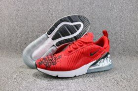 finest selection e0f53 95aa5 Reliable Nike Air Max 270 Flyknit Moves You October Red White Black BQ0742  995 Men s Running Shoes Sneakers