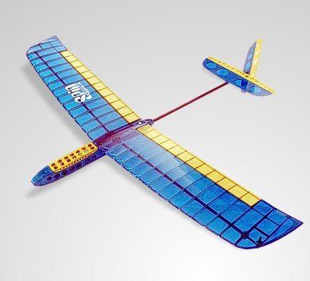 Discus Lauch Glider Spin Dlg Segler Holzbausatz Modellflugzeug