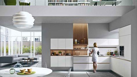 Cucina Moderna Snaidero.Cucine Moderne Della Collezione Everyone Di Snaidero