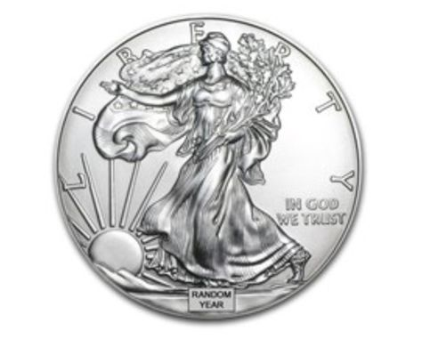Brilliant Uncirculated 1992 American Silver Eagle