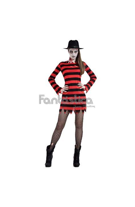 Disfraz para Mujer Chica Freddy Krueger - Tienda Esfantastica