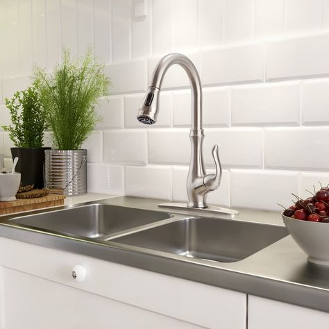 Kitchen Faucet Clofy Diy Sink 70cm 28â Nano Single Handle Pull Down Sprayer Out Faucets Brushed Nickel For