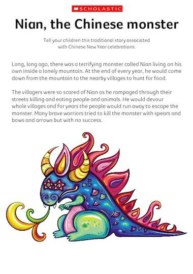 Tell Your Children This Traditional Story Associated With Chinese New Year Celebrations Chinesen Traditional Stories Chinese New Year 2020 Friends Valentines