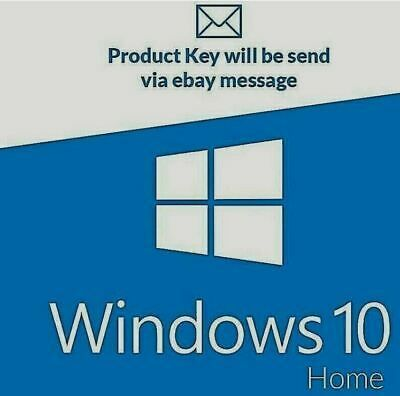 Ebay Link Ad Windows 10 Home Genuine License Activation Key Code 32 64 Bit Fast Delivery In 2020 Windows 10 Activities Microsoft Project