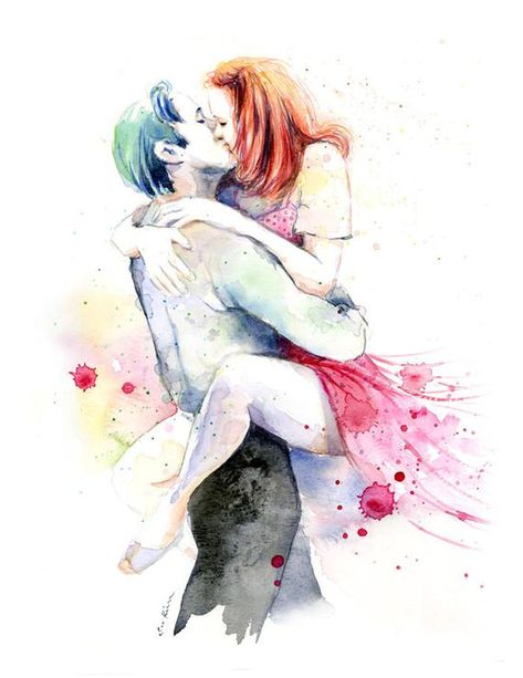 This is a print from my watercolor painting, inspired by a still from The Notebook movie Slight color/hue/contrast variations are possible due to difference in monitor settings. It will be printed on cold pressed watercolor paper using professional quality archival ink.  Other custom print sizes are