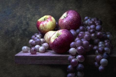 Grapes with Apples by Tom Mc Nermar. Photography.