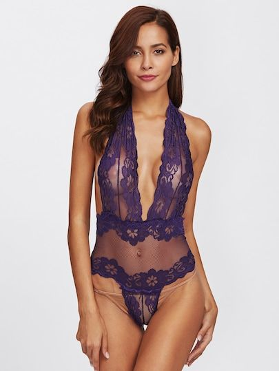 Shop Low Back Crochet Net Teddy Bodysuit online. SheIn offers Low Back Crochet Net Teddy Bodysuit & more to fit your fashionable
