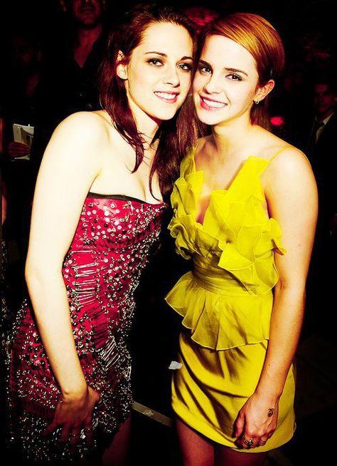 Kristen Stewart Photo: Kristen Stewart and emma watson