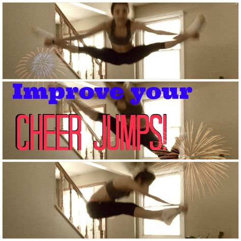 Improving cheer jumps