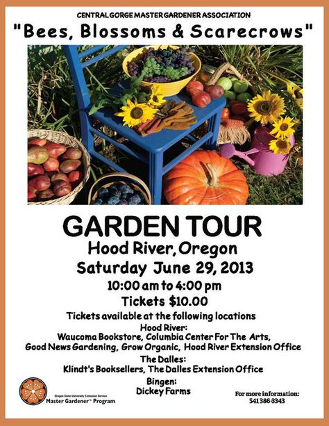Hood River Or The Garden Tour Will Feature Seven Gardens That Are