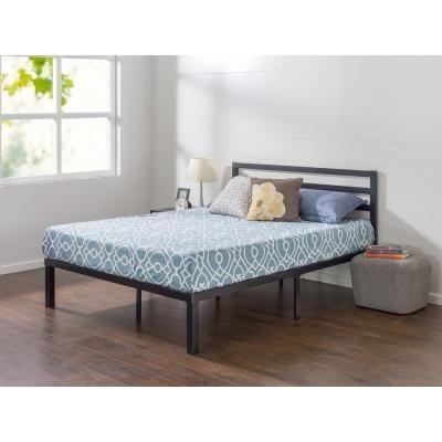Zinus Luis Quick Lock 14 Inch Metal Platform Bed Frame With