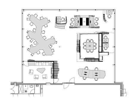 Modern Home Office Plan In 2020 Office Floor Plan Floor Plan Design Office Layout Plan