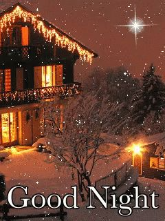 Good Night Lights GIF - GoodNight Lights Snow - Discover & Share GIFs