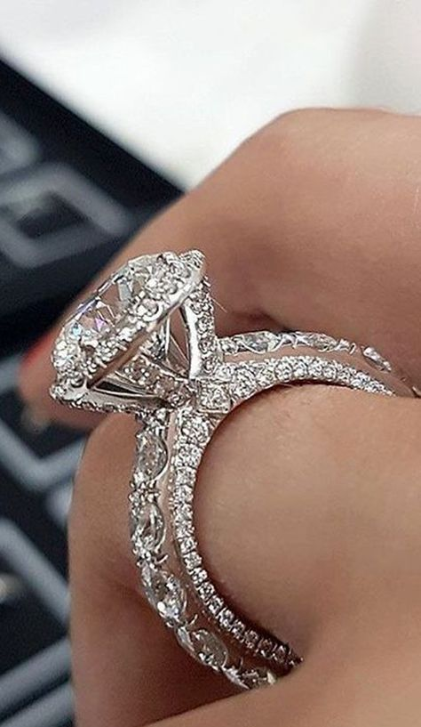 Cute Diamond Engagement Ring Wedding Promise Rings Fashion Promise - www.Jewolite.com