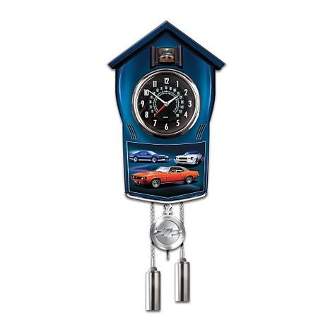 Wall Clocks Decor Chevy Camaro Cuckoo Clock By The Bradford Exchange See This Great Product Note It Is Affiliate Li Camaro Classic Cars Ford Classic Cars