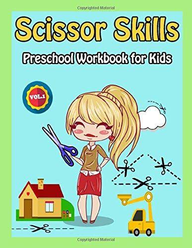 Pin On Kids Activity Books Scissor skills preschool workbook