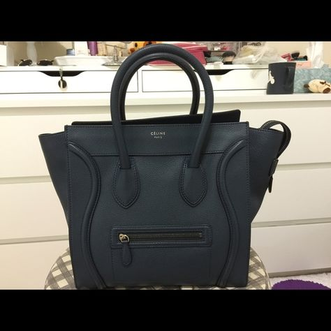 Spotted while shopping on Poshmark  Celine Mini Luggage tote!  poshmark   fashion  shopping  style  Celine  Handbags a7c45ffc1f