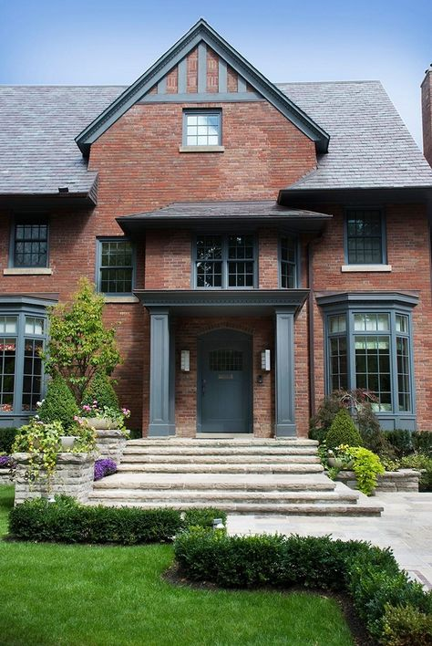✔️ 36 Design With Brick Homes Exterior Find Painting Ideas Here 19