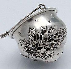 Fradley Thistle Teapot Spout Strainer
