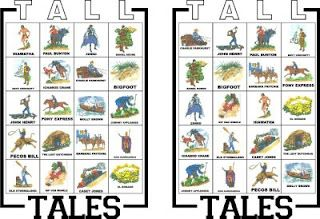Tall Tales Bingo.  Bear Achievement 4.