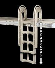 Dock Edge Dock Ladder 4 Steps 40 Aluminum Gray De2004f Rona Dock Ladder Home Depot Aluminum