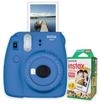 bdeb34cd5 Fujifilm Instax Mini 9 Instant Camera Bundle in Cobalt Blue  instantcamera   ad  film