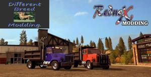 FS17 PC mod edit release International Dump trucks – LAMBO MODS