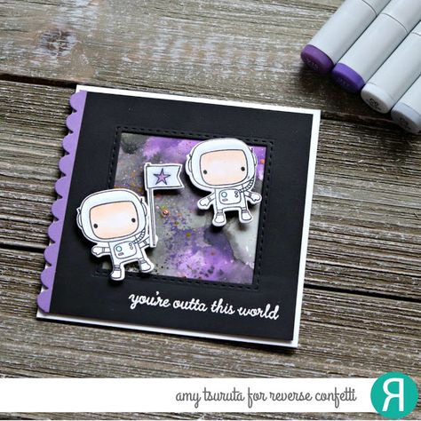 Pin Pa Cards Space Galaxy